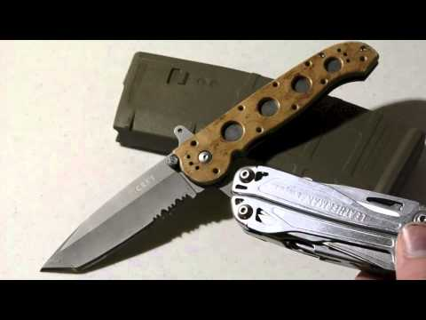 how to close crkt m16-10ksf