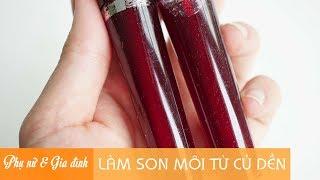 Mẹo Làm Đẹp | Làm son môi từ củ dền | Phụ Nữ và Gia Đình