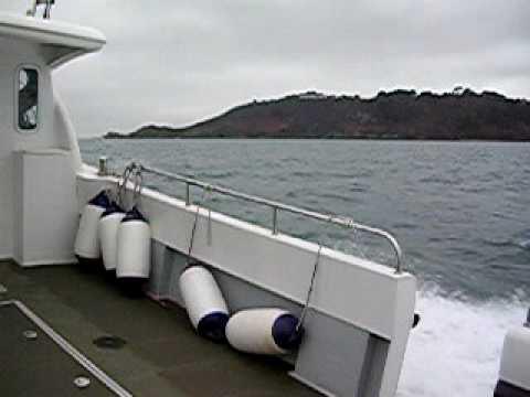 Sea trials on Ocean Cobra