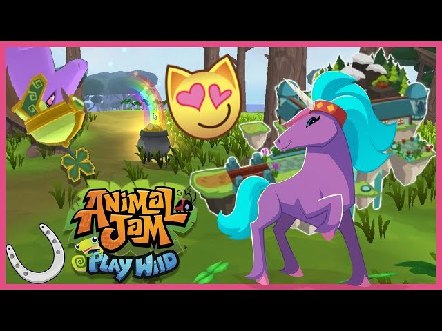 I Can't Believe I Got This! + Floating Fortress Den Speed Build 🐴 Animal Jam Play Wild