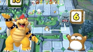 Super Mario Party - Domino Ruins Treasure Hunt (Bowser/Monty Mole vs Boo/Goomba) | MarioGamers