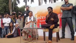 Zakir khan latest comedy 2017... jashne rekhta 20th February