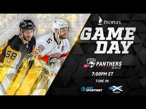 NHL 18 PS4. REGULAR SEASON: Florida PANTHERS VS Pittsburgh PENGUINS. 10.14.2017. (NBCSN) !