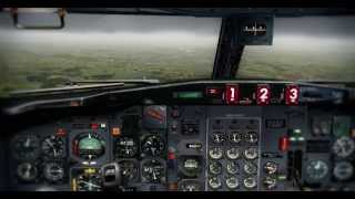 [FSX HD] - CaptainSim B727-200 Landing at Manchester