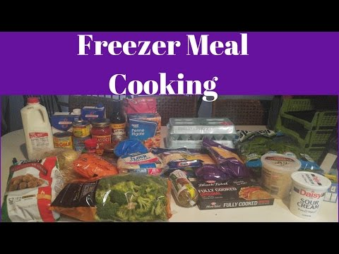 Freezer Meal Cooking