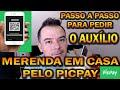 PASSO A PASSO PARA O AUXILIO MERENDA EM CASA PELO PICPAY