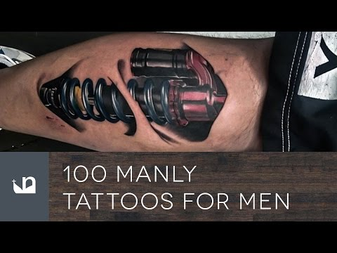 Manly Tattoos For Men