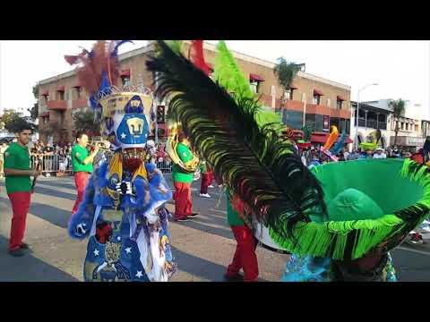 Desfile Fiestas Patrias 2017 en Santa Ana California