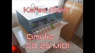 civciv büyütme kafesi Cimuka CB 25 Midi büyütme ünitesi