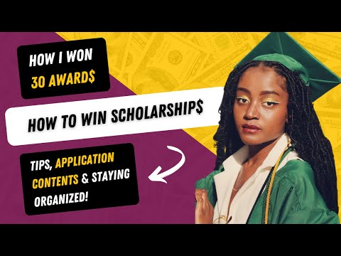 How to Get Scholarships | Winning Tips, Application Contents, Scholarship Types & Organization!!