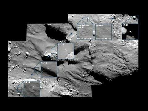 Fresh pictures of Philae's historic comet landing