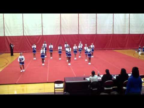 Carman Ainsworth Middle school Cheer Big 9 2012 Round 3