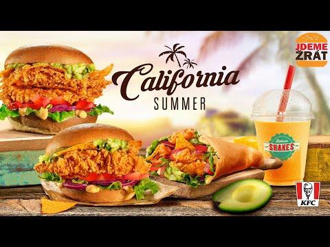 Letní CALIFORNIA NOVINKY od KFC!
