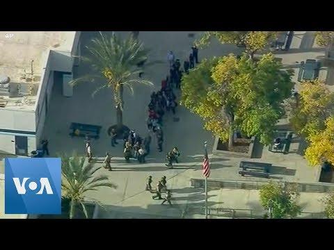 Sheriffs Responding to Active Shooter at Saugus High School in Santa Clarita, California