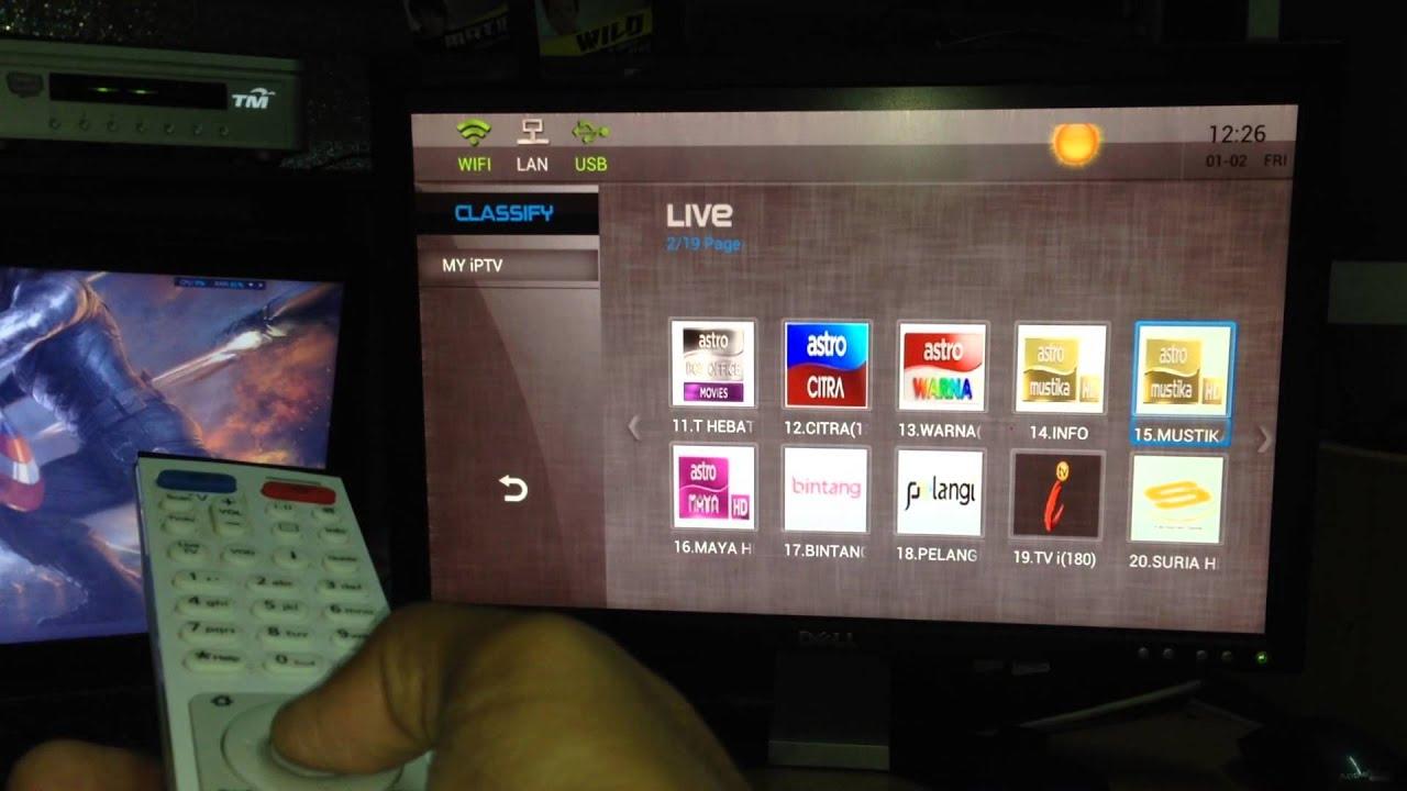 Watch Astro from Unifi HyppTV decoder