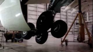 Etihad Airways A330 retraction test