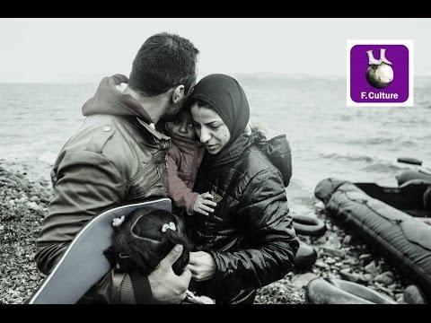 Les réfugiés sur l'île grecque de Lesbos (parties 1 et 2)