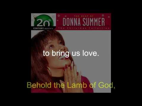 Donna Summer - Lamb of God LYRICS - Remastered