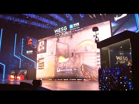 Top Players Compete at E-sports Event in East China City