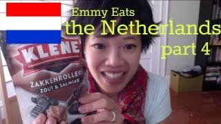 Emmy Eats the Netherlands: pt 4 - tasting Drop & Salmiak