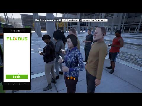 Fernbus Coach Simulator 2017 career part 1