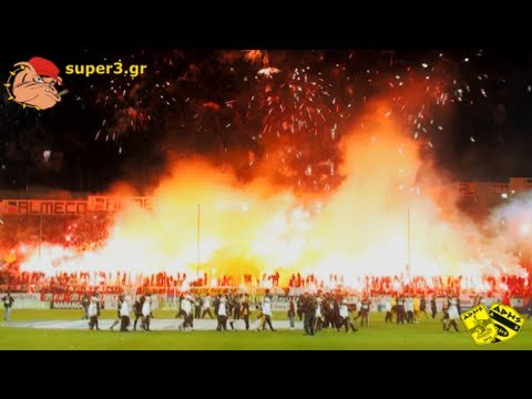 The Art of Pyroshow || Aris vs paok 2-0