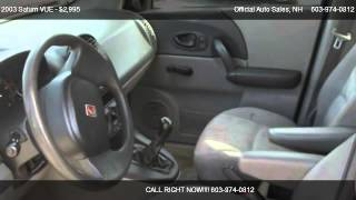2003 Saturn VUE FWD - for sale in Plaistow, NH 03865