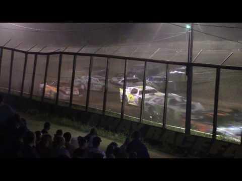 Eriez Speedway Street Stock Crash 7-16-17