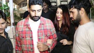 Abhishek Bachchan PROTECTS Aishwarya Rai From The Crowd