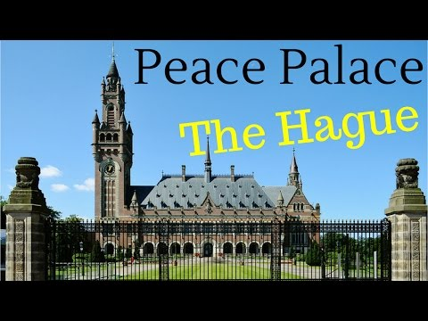 Peace Palace (Vredespaleis), The Hague (Den Haag), The Netherlands (4K)