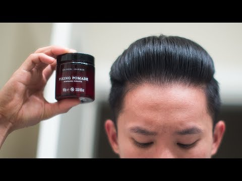 Daimon Barber Fixing Pomade Review -- Finally a Different Gel-Pomade