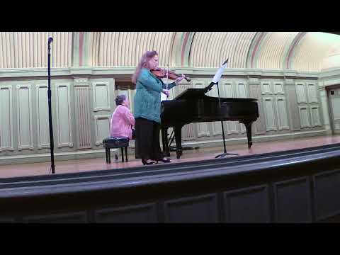 Rebecca Clarke Untitled piece, performed by Patricia McCarty & Rose Chancler