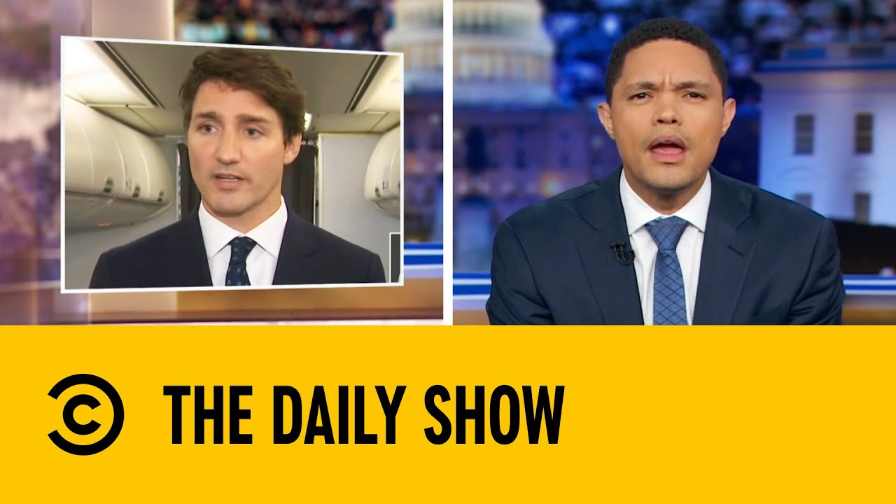 Justin Trudeau Embroiled In Brownface Scandal | The Daily Show With Trevor Noah image