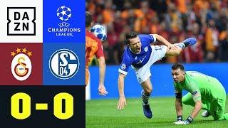 Knappen verzweifeln im Hexenkessel: Galatasaray - FC Schalke 04 0:0 | UEFA CL | DAZN Highlights