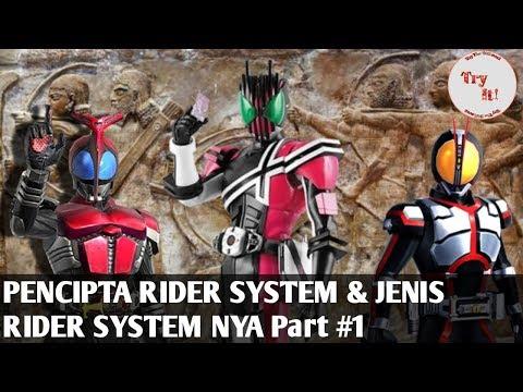 Jenis Jenis Rider System & Penciptanya Part 1