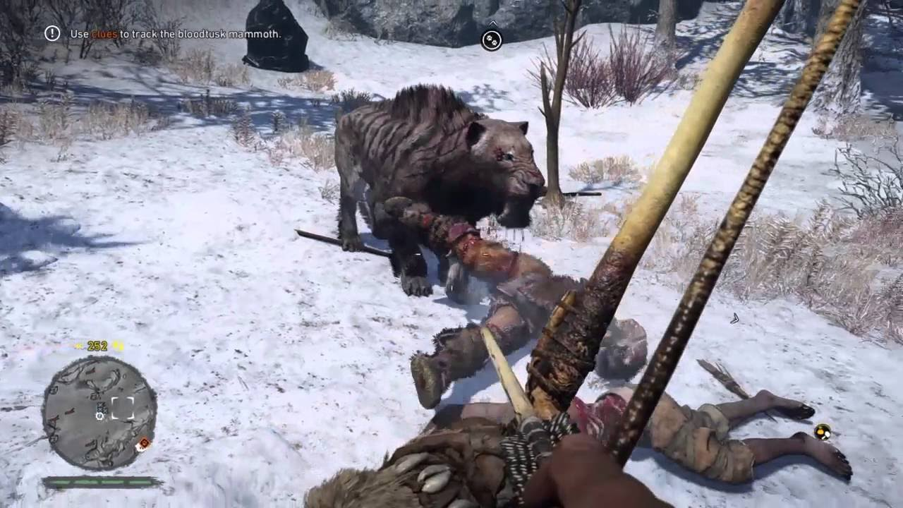how to skip beginning cinematic on far cry primal
