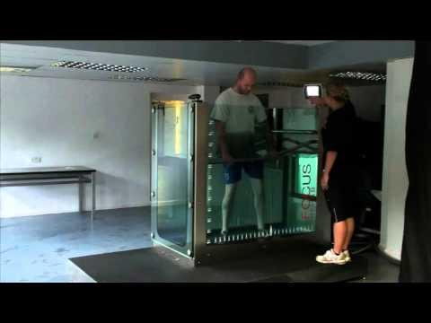 NEW HYDRO PHYSIO Focus Treadmill