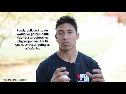 How to get baseball scholarship - & why going to JuCo was the best decision I could've made