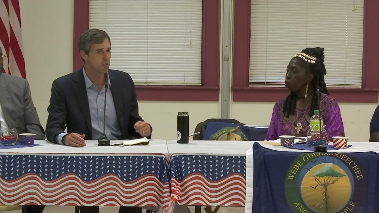 Beto O'Rourke visits Gullah Geechee Nation in SC