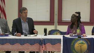 Beto O'Rourke visits Gullah Geechee Nation in SC