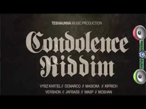 Condolence Riddim Mix  SEPT 2016 (Teshauna Music Production )Mix by djeasy