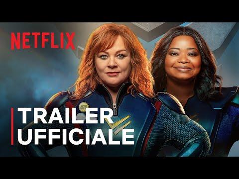 Thunder Force | Melissa McCarthy e Octavia Spencer | Trailer ufficiale | Netflix