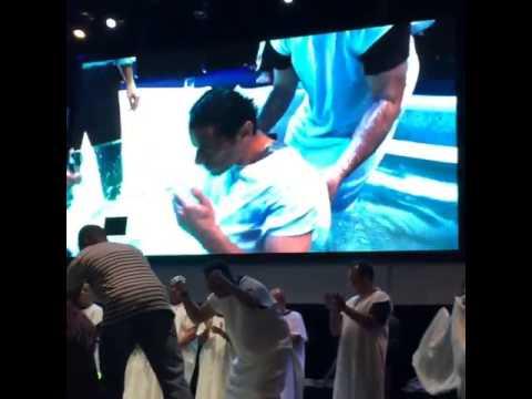 O batismo de Fred