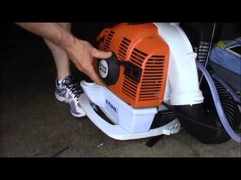 how to fix extreme compression on a stihl fs 130