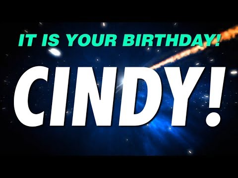 HAPPY BIRTHDAY CINDY! This Is Your Gift.