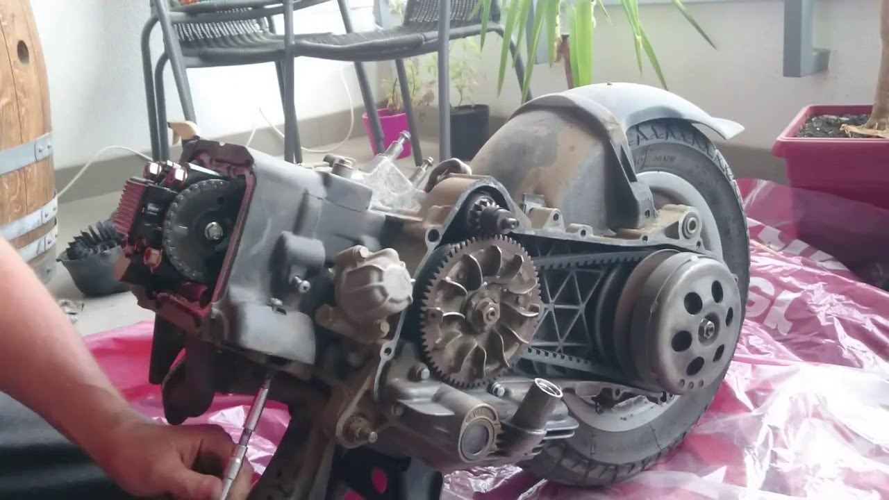 Vespa  Et Engine
