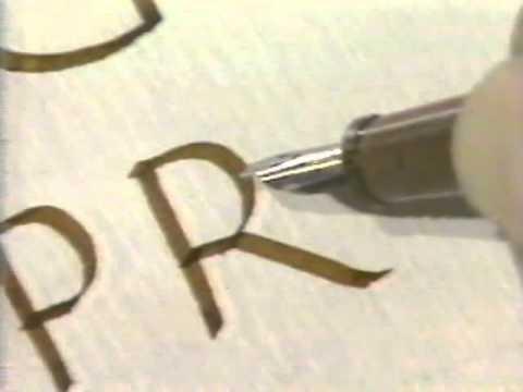 Lloyd Reynolds' Italic Calligraphy & Handwriting Episode 5
