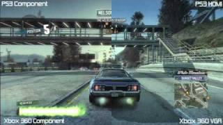 PS3 Vs Xbox 360 Graphics Comparison (Burnout Paradise)