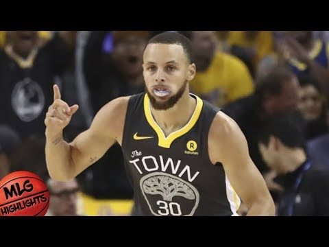 0fb7b7bd5 Golden State Warriors vs Houston Rockets Full Game Highlights   Game 4    2018 NBA Playoffs