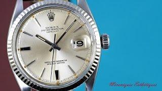 rolex datejust 1601 1964 nice vintage datejust